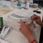 Estudiantes de TAREA-IIPC realizan prácticas en la Biblioteca Central