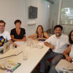 Autoridades de la UNSAM se reunieron con el ministro de Cultura de la Ciudad de Buenos Aires