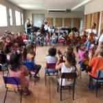La UNSAM visitó la Orquesta-Escuela de Chascomús