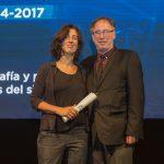 Verónica Tell recibió el Premio Nacional al Ensayo Artístico