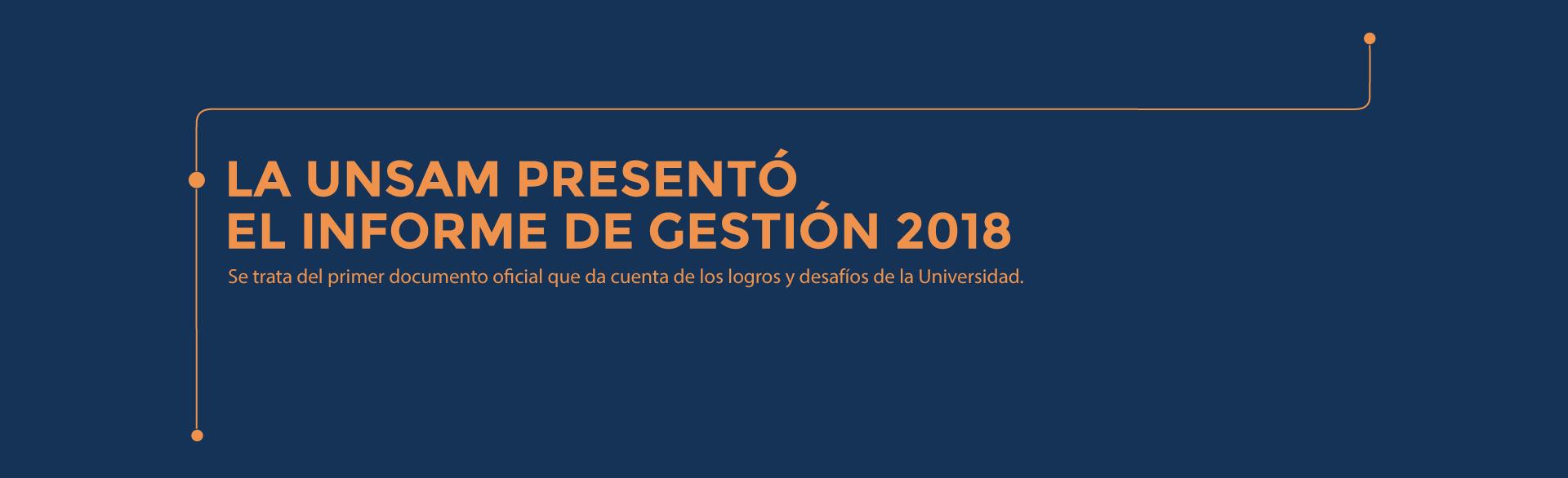 La UNSAM presentó el Informe de Gestión 2018