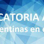 Convocatoria: Casas argentinas en España y Francia
