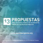 Repercusiones en los medios sobre la presentación de la Agenda Urgente para una Sociedad de Trabajo