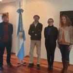 Representantes de la Universidad de Téramo visitaron la UNSAM
