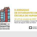 II JORNADAS DE ESTUDIANTES DE LA ESCUELA DE HUMANIDADES