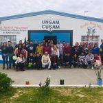 Estudiantes de trabajo social del CUSAM y la UNPAZ conversaron sobre sus trayectorias de formación