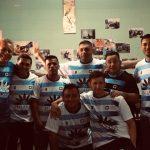 CUSAM-Bella Flor estrenó la camiseta del territorio