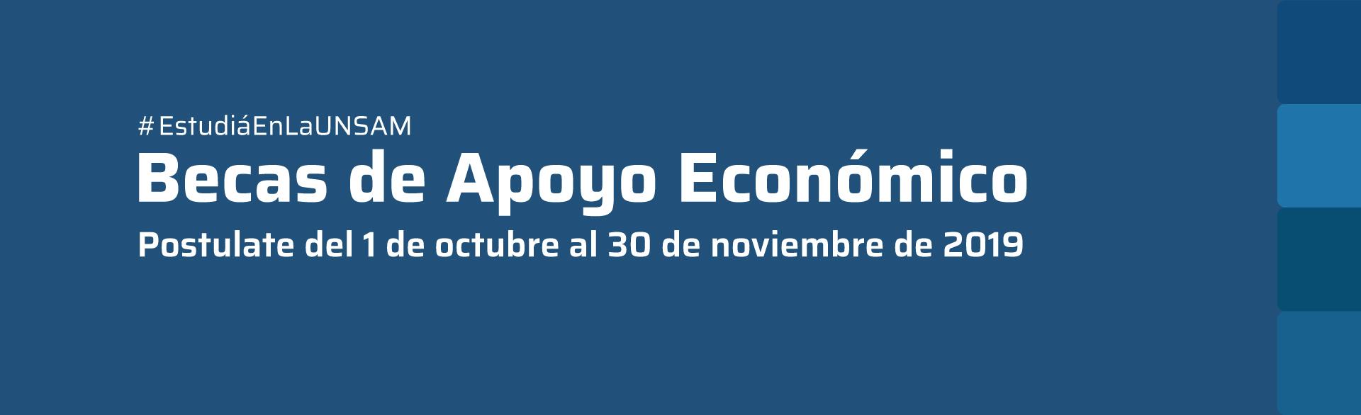 Becas de Apoyo Económico UNSAM
