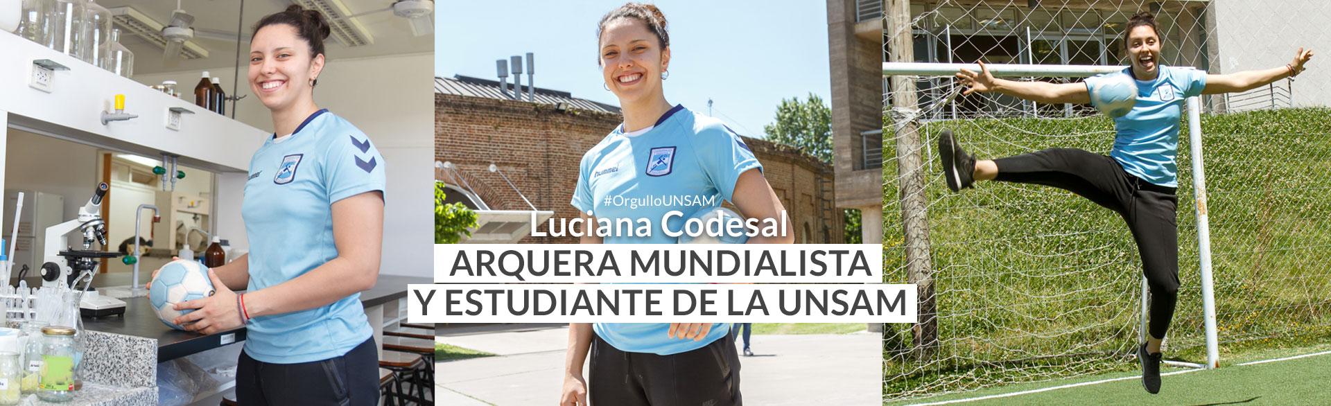 Luciana Codesal, arquera mundialista