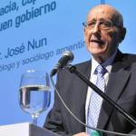 Se presenta el libro <em>José Nun y las ciencias sociales. Aportes que perduran</em>