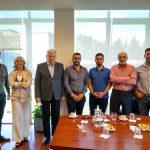 Autoridades del Ecoparque Interactivo visitaron el Campus