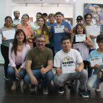 Terminar la primaria: 13 estudiantes completaron sus estudios en la UNSAM