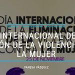 Día Internacional de la eliminación de la Violencia de género en el sistema universitario