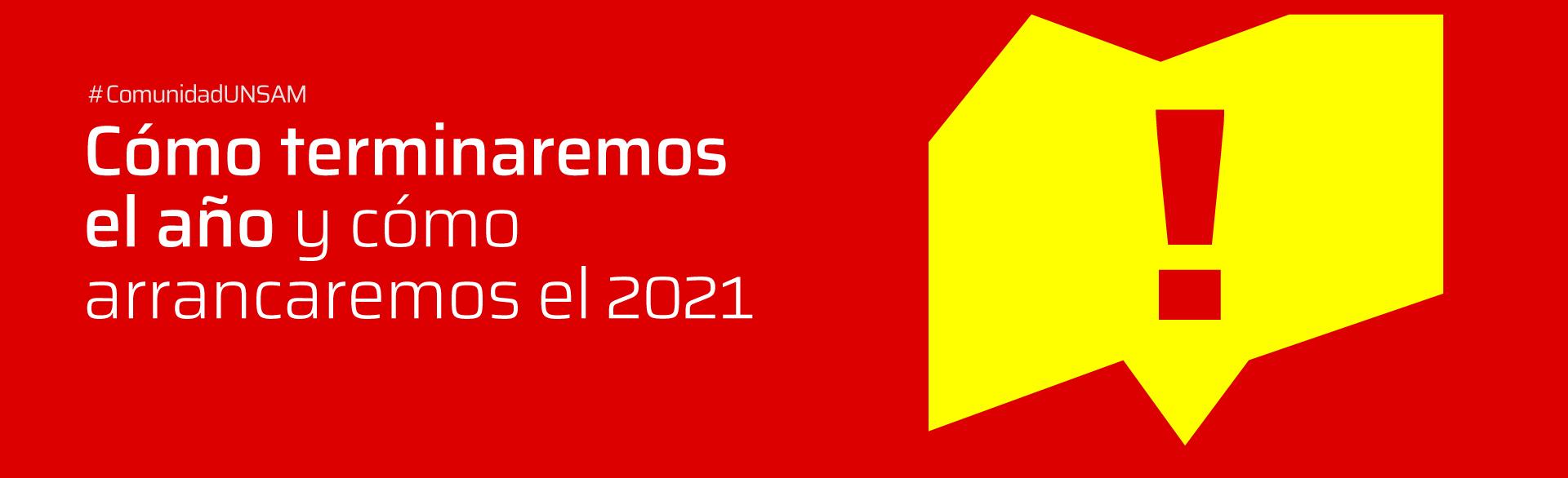 Cómo terminaremos el año y cómo arrancaremos el 2021