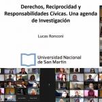 Lucas Ronconi inauguró los Seminarios de Investigación EEyN de 2021