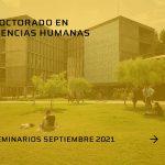 Seminarios de septiembre del Doctorado en Ciencias Humanas