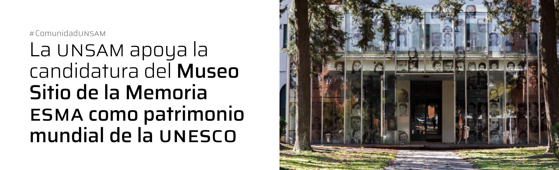 UNSAM ESMA UNESCO