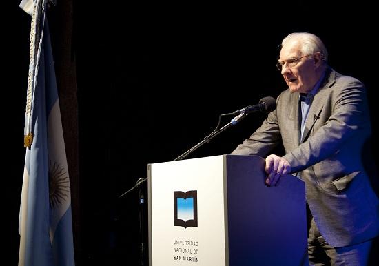 Alain Badiou en la UNSAM