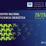 Encuentro Nacional de Eficiencia Energética en la UNSAM