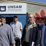 Jesús Moreno Sanz y Diego Tatián visitaron el CUSAM