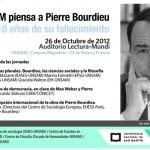 Jornadas: la UNSAM piensa a Pierre Bourdieu