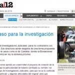 El proyecto de hacer una Policía Judicial Bonaerense en Página 12