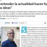 Sandro Chignola en La Nación