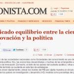 """""""El conocimiento como estrategia de cambio"""" en El Cronista"""