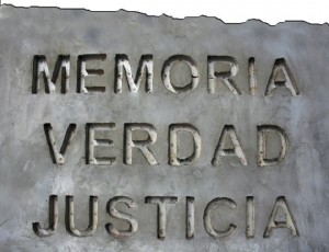 Memoria Verdad Justicia