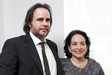 Lolita Aniyar de Castro y Rodrigo Codino