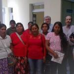 """Reunión del Centro """"E. Valls"""" con representantes de asociaciones Wichis y Qom"""