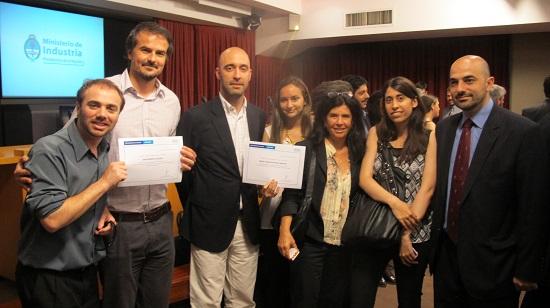 El Ministerio de Industria premió a cuatro investigadores de IIB