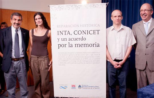 Por la memoria: el trabajo de una investigadora de la UNSAM inspiró un convenio entre el CONICET y el INTA