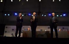 """Paul Auster y J. M. Coetzee ya son doctores """"honoris causa"""" de la UNSAM"""