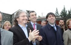 Carlos Ruta, Florencio Randazzo, Diego Bossio