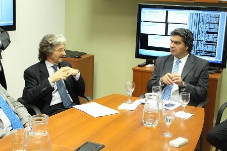 Carlos Ruta y Jorge Capitanich