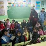 Primera experiencia académica en el Jardín Comunitario La colmenita