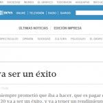 Columna de opinión de Enrique Dentice, en Tiempo Argentino