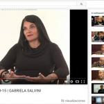 Entrevista a Gabriela Salvini, en el canal Senado TV