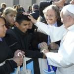 El encuentro de Ruta con el Papa Francisco, en La Prensa y Página 12