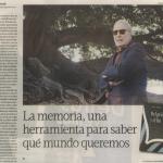 Entrevista a Uwe Timm, en Tiempo Argentino