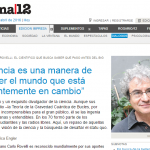 Entrevista a Carlo Rovelli en Página/12