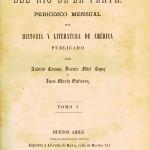 """Charla """"Tinta que forja la nación. El proyecto editorial de la Revista del Río de la Plata (1871-1877)"""""""