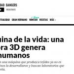 Gastón Galanternik habló sobre la bioimpresora de la UNSAM en Big Bang News