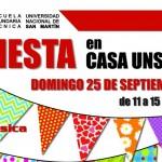 Fiesta de inauguración de la Casa UNSAM
