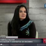Gabriela Salvini habla del CUSAM en Canal 10 de Uruguay
