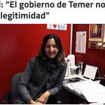 Entrevista a Ximena Simpson en Notas