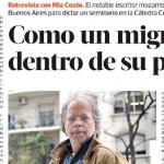 Entrevista a Mia Couto en <i>Revista Ñ</i>