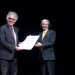 """Carlo Ginzburg: """"Estoy profundamente honrado por el reconocimiento de esta gran universidad"""""""