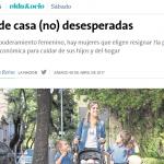 <i>La Nación</i> consultó a Eleonor Faur sobre el rol femenino en el mercado de trabajo y en el hogar